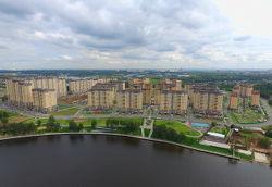 Город Долгопрудный, жилой комплекс «Московские водники»