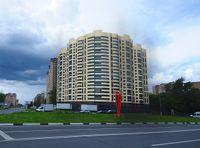 Город Долгопрудный, ул. Дирижабельная, д. 1, вид со стороны Дирижабельной улицы